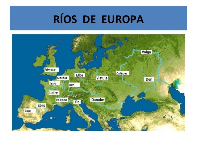 RÍOS DE EUROPA