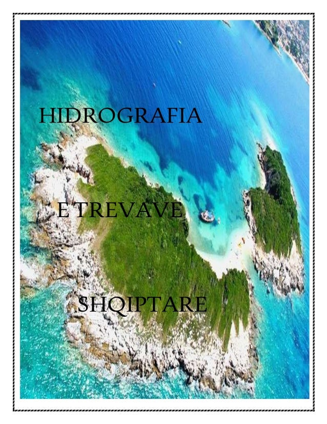 HIDROGRAFIA ETREVAVE SHQIPTARE