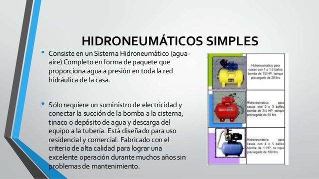 Hidroneumaticos
