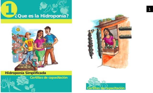 ¿Que es la Hidroponía? Cartillas de capacitación 1 Hidroponía Simplificada Cartillas de capacitación 1
