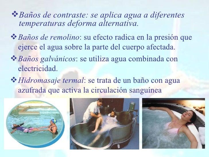 Hidroterapia 1 - Banos de contraste ...