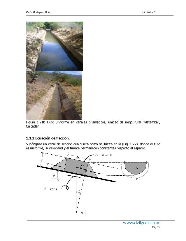 Hidraulica de canales pedro rodriguez ccuart Image collections