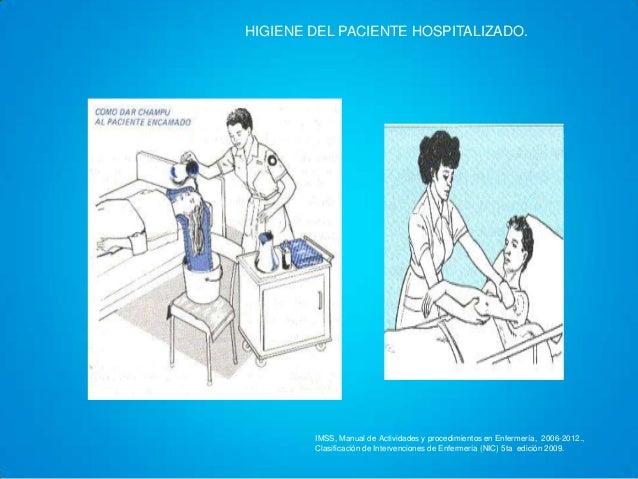 Hiegiene Del Paciente Hospitalizado