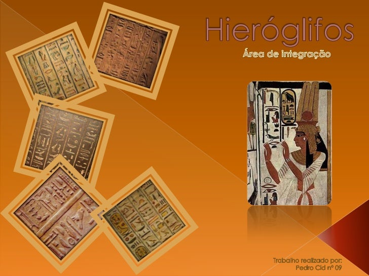    A escrita hieroglífica podia ser escrita em linhas ou colunas,    tanto da esquerda para a direita, quando da direita ...