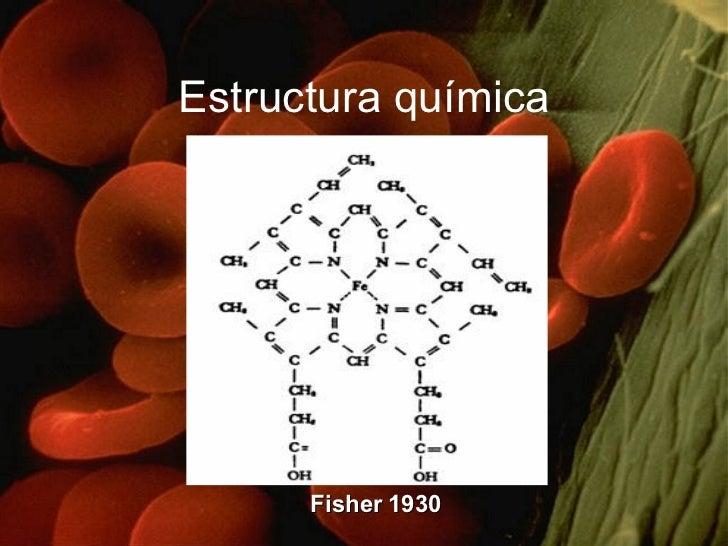 Estructura química Fisher 1930
