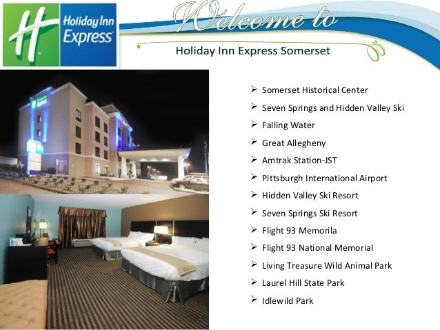 Holiday Inn Express Somerset Pa Hotel