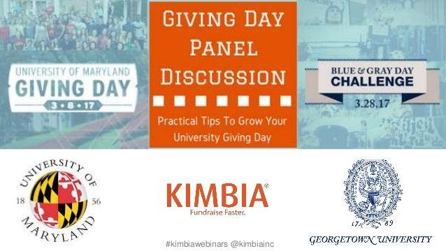#kimbiawebinars @kimbiainc