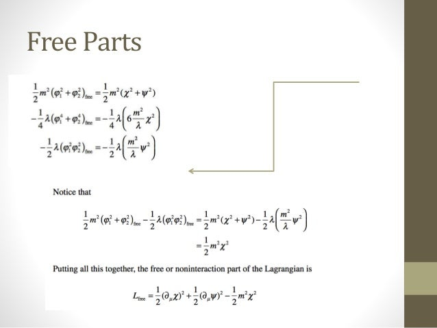an essay on lagrangians theory The helmholtz conditions revisited a new approach to the the theory of equivalent lagrangians symmetries and the inverse problem of lagrangian dynamics for.