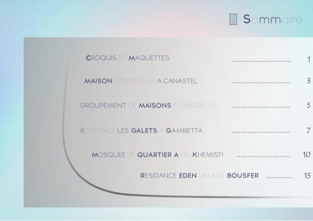 Portfolio d'Architecture Slide 2
