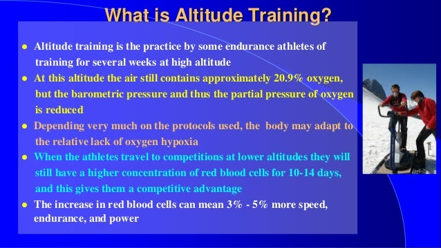 ASTRA High Altitude Training - What is altitude