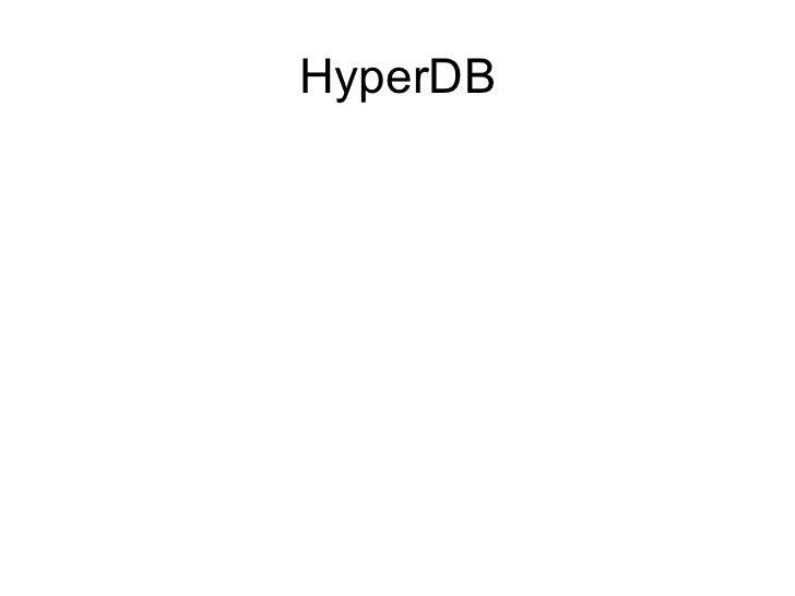 HyperDB