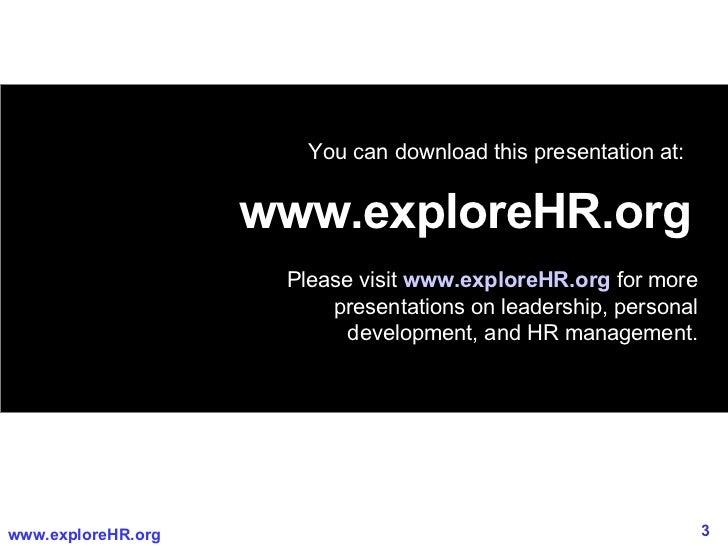 High Performing Leadership   Slide 3
