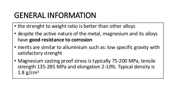 UTILIZATION • Magnesium is used for camera lightings • it is also used in car industry for its strenght and lightnes • we ...
