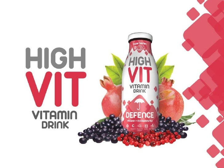 HighVit Brand• HighVit brand represents tasty and refreshing health  drinks that are enriched with close to supplemental  ...