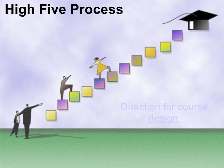 Direction for course design   High Five Process