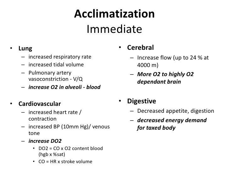 13-feb-161high atitude high altitude acclimatization. Ppt download.