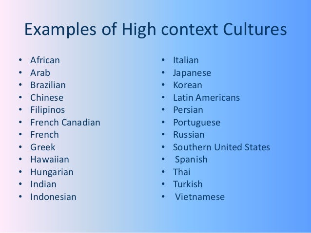 highcontext culture definition amp examples video - 638×479
