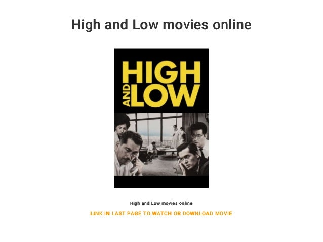 High and Low movies online