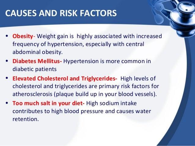 high blood pressurecauses