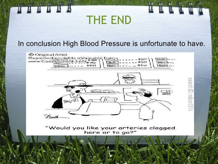 high blood pressure project High blood pressure is a problem that won't go away without treatment and changes to your diet and lifestyle you should always have an idea of what your blood pressure is, just as you know your height and weight.