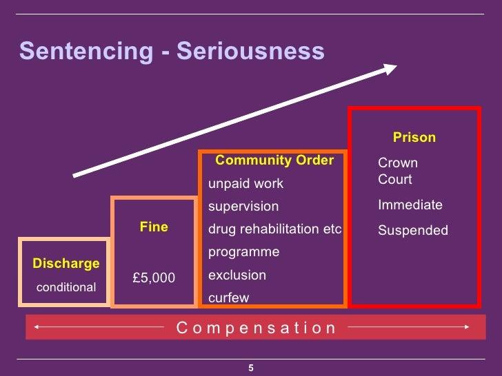section 4 public order sentencing guidelines