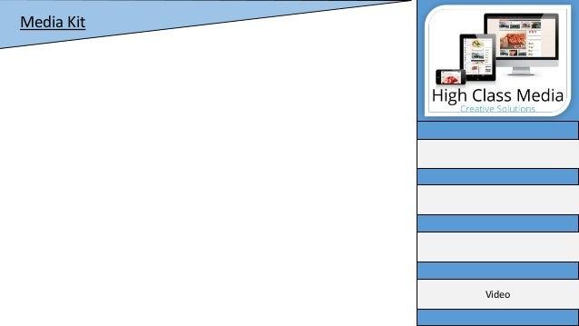 High class media multi media kit Slide 2