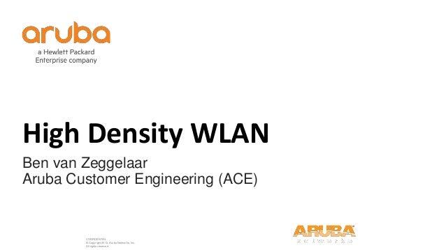 Airheads Meetups- High density WLAN