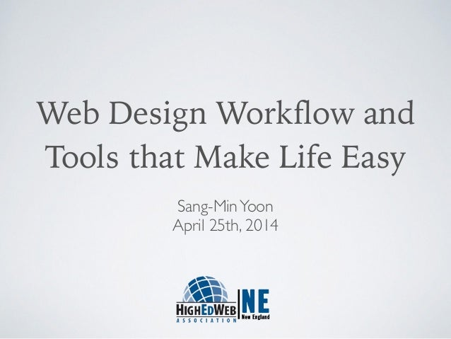 Web Design Workflow and 