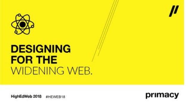 #HEWEB18