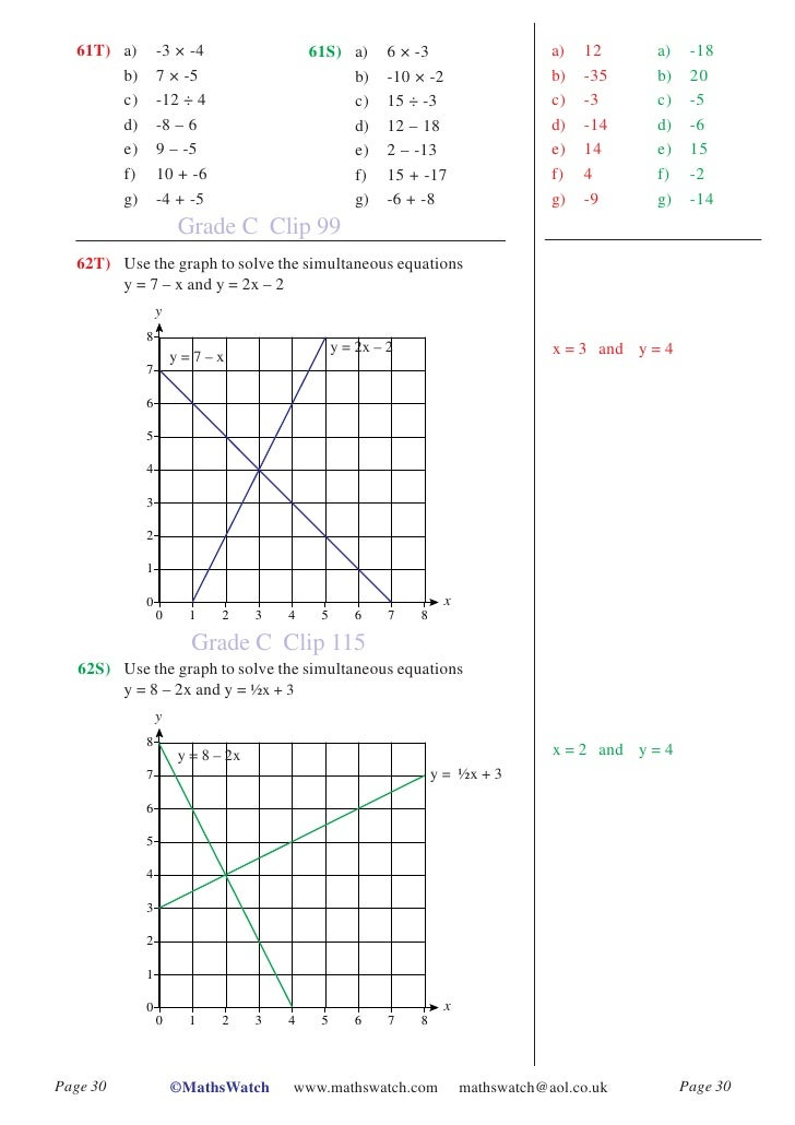 mathswatch higher worksheets aw Gcse maths takeaway print out the worksheet of exam questions, or just grab a piece of paper, and try as higher topics - number.