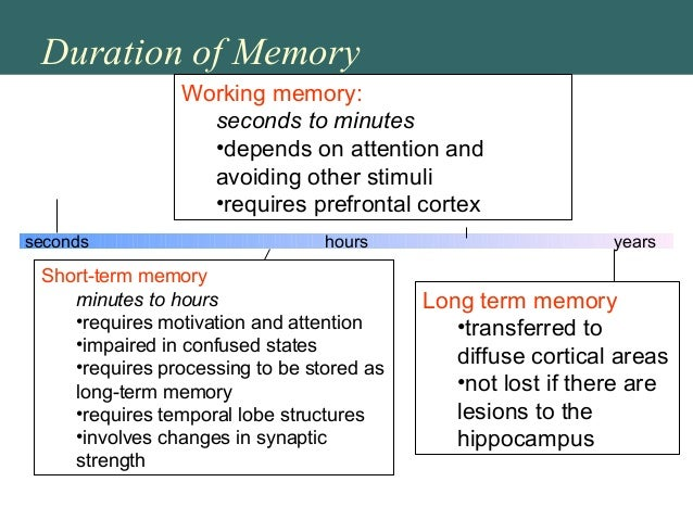 Conversion of a short-term memory to a long-term memory is called