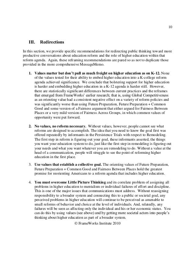 10   III.    RedirectionsIn this section, we provide specific recommendations for redirecting public thinking toward morep...