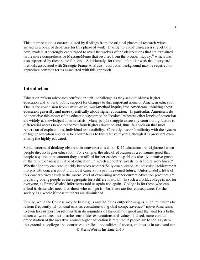 3This interpretation is contextualized by findings from the original phases of research whichserved as a point of departur...