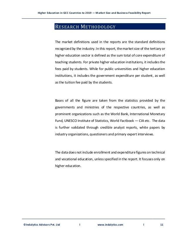 GCC Education Report