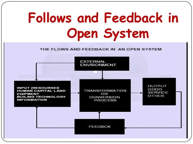 Follows and Feedback in Open System