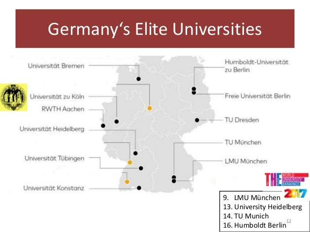 a look at higher education in germany Except for the dsh which has to be taken at the higher education institution itself, the other certificates can be gained either in your home country or in germany.