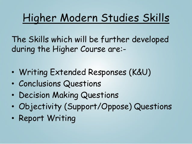 higher modern studies immigration essays Samm, i went home without my hard drive on thursday by mistake will pop in to school to upload the essay plans in the morning keep checking the front page.