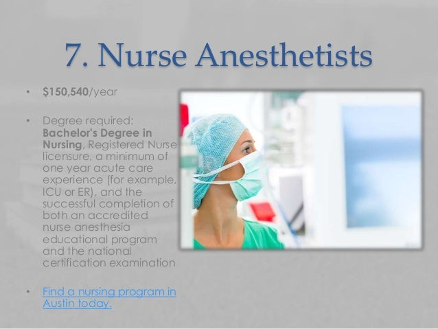 nurse anethesist salaries california Certified nurse anesthetist salaries – compare and see howcertified nurse anesthetist salary how much does a certified nurse anesthetist make requires a high school diploma and certification from an accredited nursing assistant program familiar with standard concepts, practices, and procedures within a particular field california.