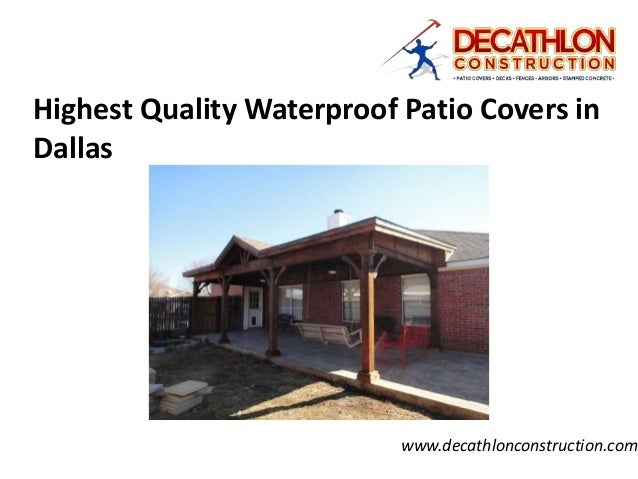 Exceptional Highest Quality Waterproof Patio Covers In Dallas  Www.decathlonconstruction.com ...
