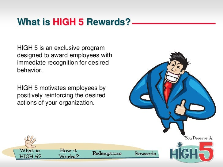Newton's HIGH 5 Employee Recognition