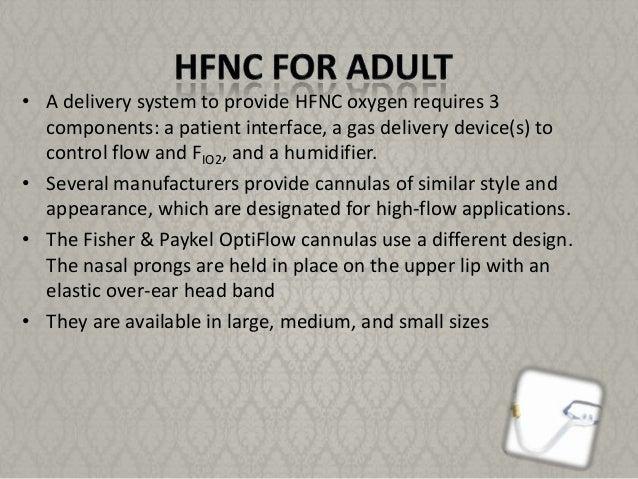 High Flow Nasal Cannula Hfnc By Tarfa Al Sabhan