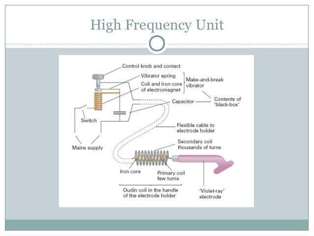 high frequency machine uses