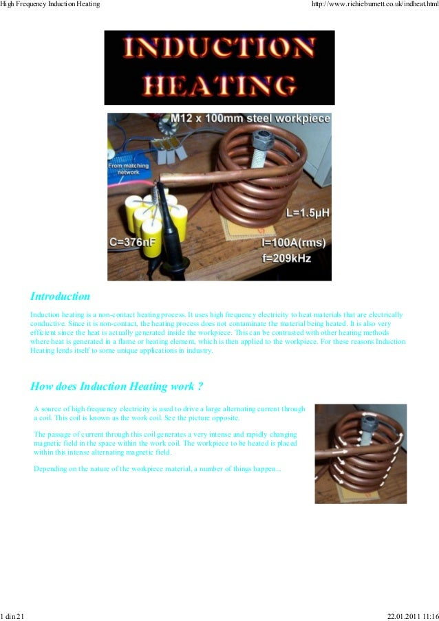 high frequency induction heating pdf