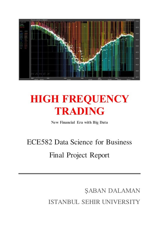 High frequency forex trading strategy optimization