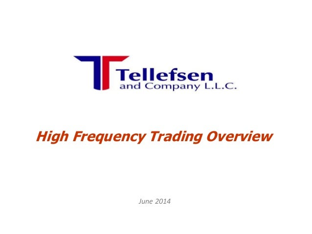 How To Start A High Frequency Trading Business
