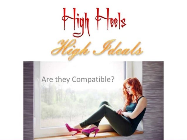High Heels In essence, high heels disrupt gait and posture for the entire body. In a study of varying heel heights, it was...