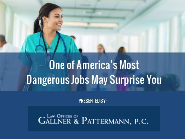 Nursing Has Become One of America's Most Dangerous Jobs