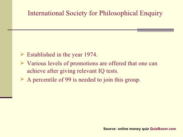 High Iq Societies Quiz, Trivia, Test, Questions, Answer