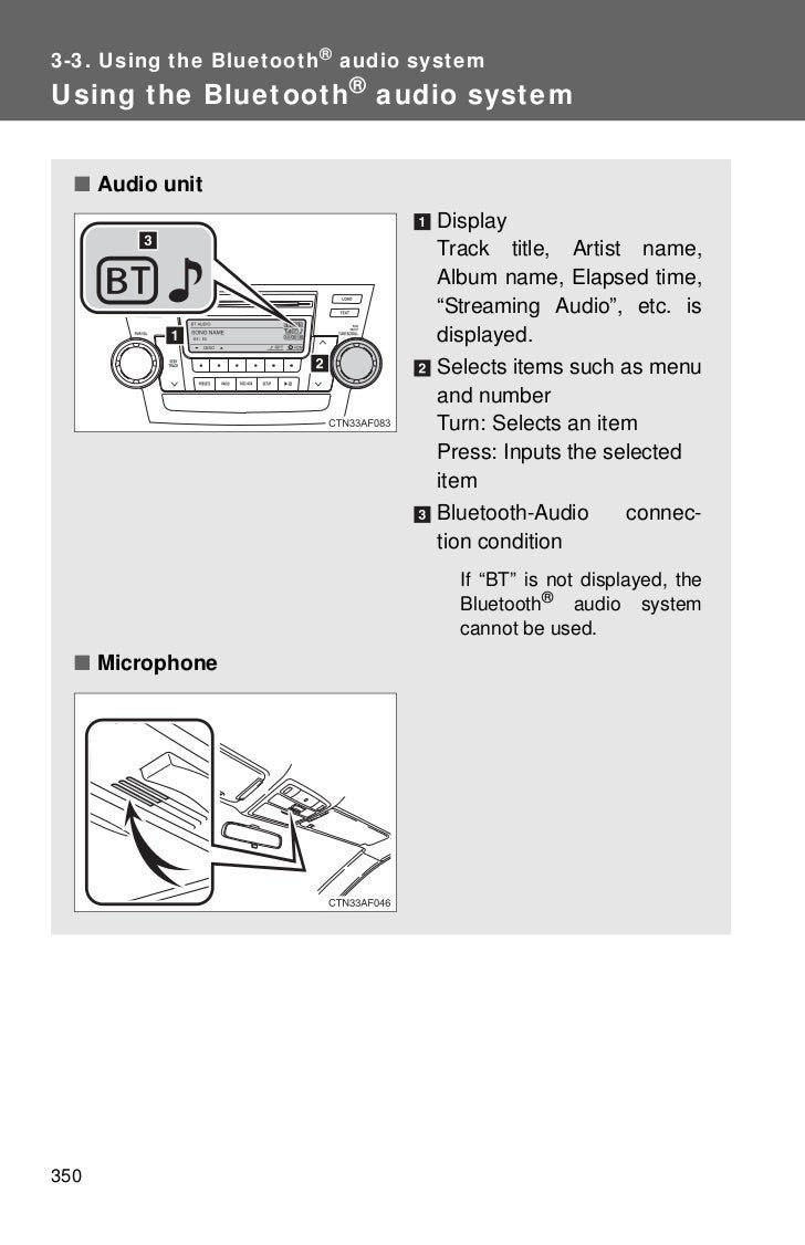 Toyota Highlander Owners Manual: If a warning message isdisplayed