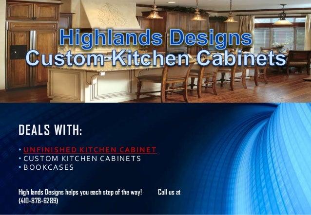 Highlands Designs Custom Kitchen Cabinet